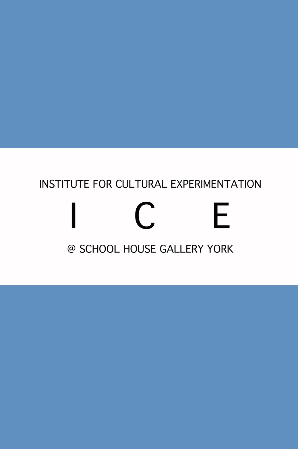 ice logo blue